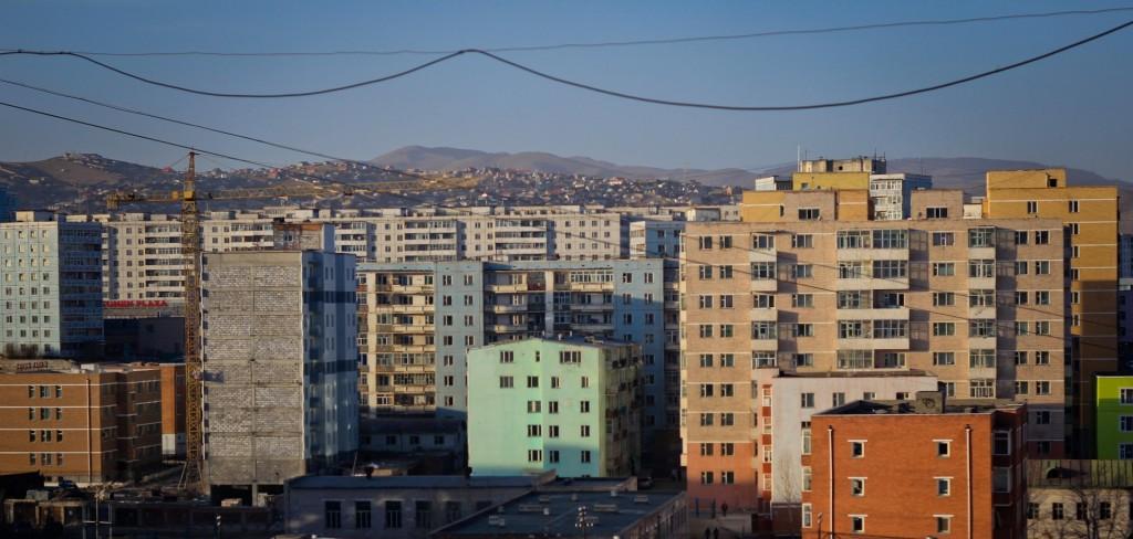 Soviet-Era Skyline